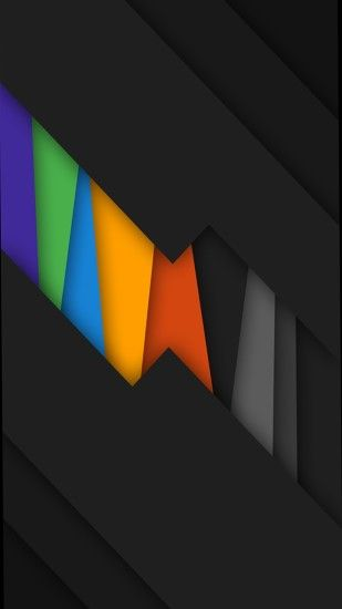 black rainbow colors . abstract