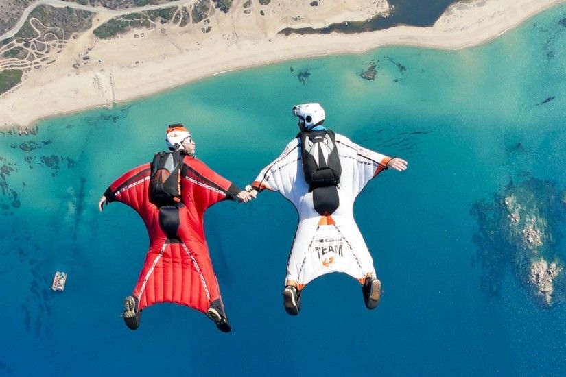 Skydiving Wingsuit Flying
