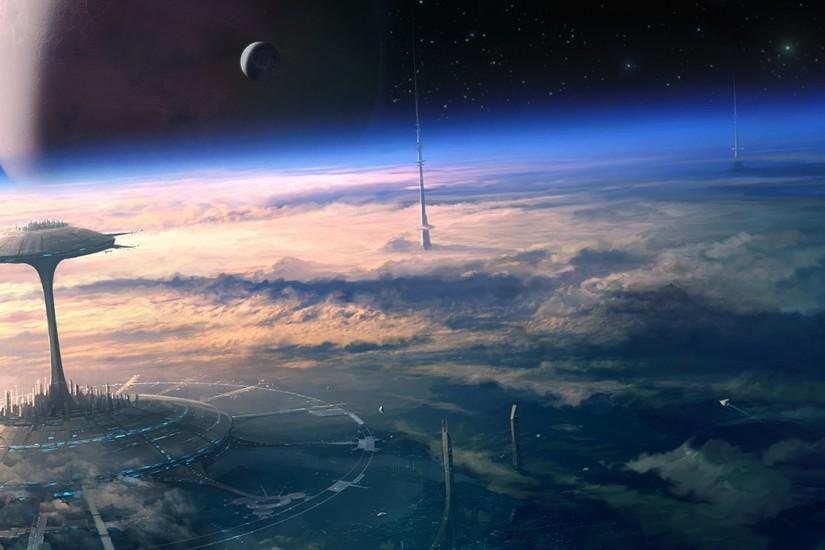 most popular sci fi background 2560x1440