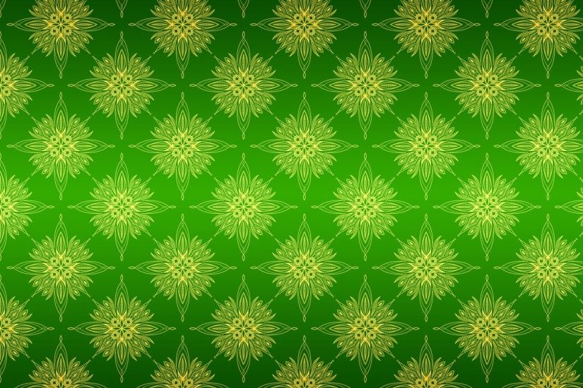 ... Green pattern background texture wallpaper ...