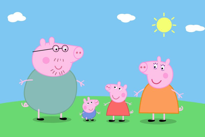 1920x1200 Awesome Peppa Pig Picnic wallpaper | Peppa Pig wallpapers ...