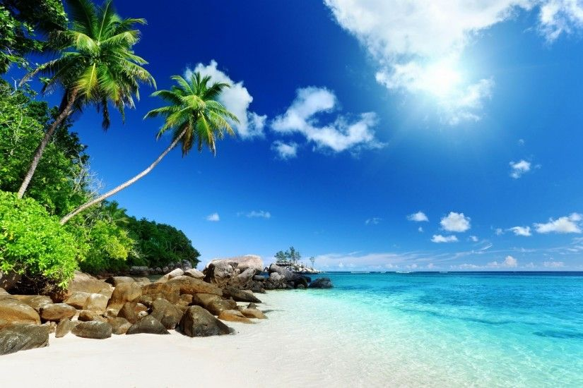 ... Tropical, Island, Clouds Wallpapers HD / Desktop and .
