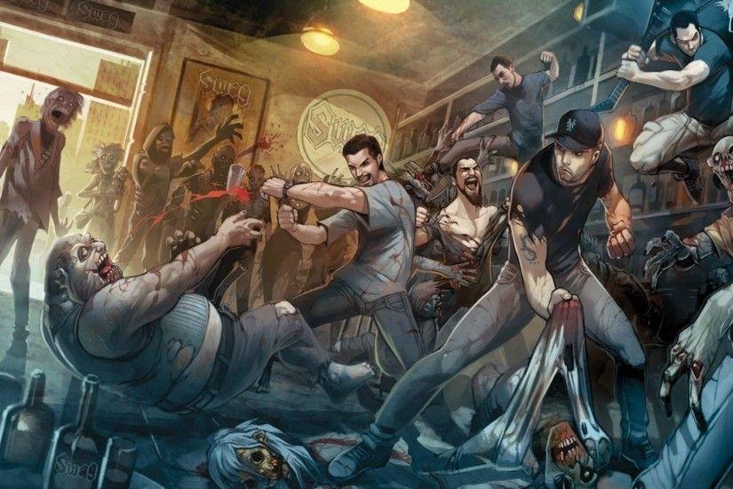 Cool Zombie Wallpaper ·① WallpaperTag