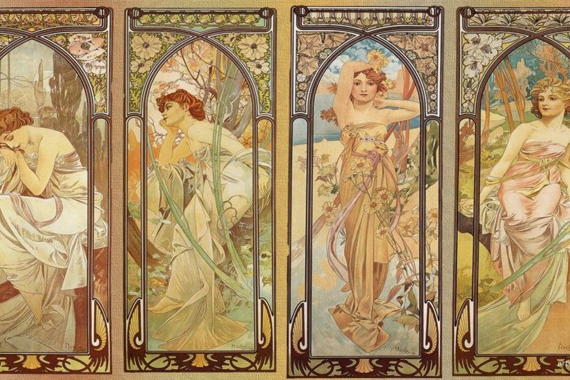 alphonse mucha wallpaper full hd wallpaper desktop images background photos  download free samsung iphone mac 1920x1080