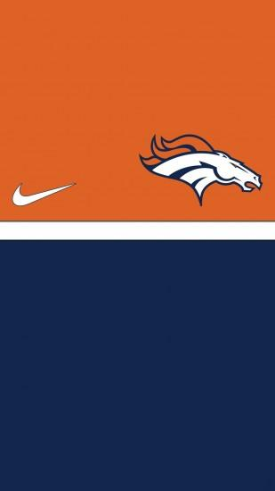 HD Denver Broncos iPhone 5 Wallpaper.