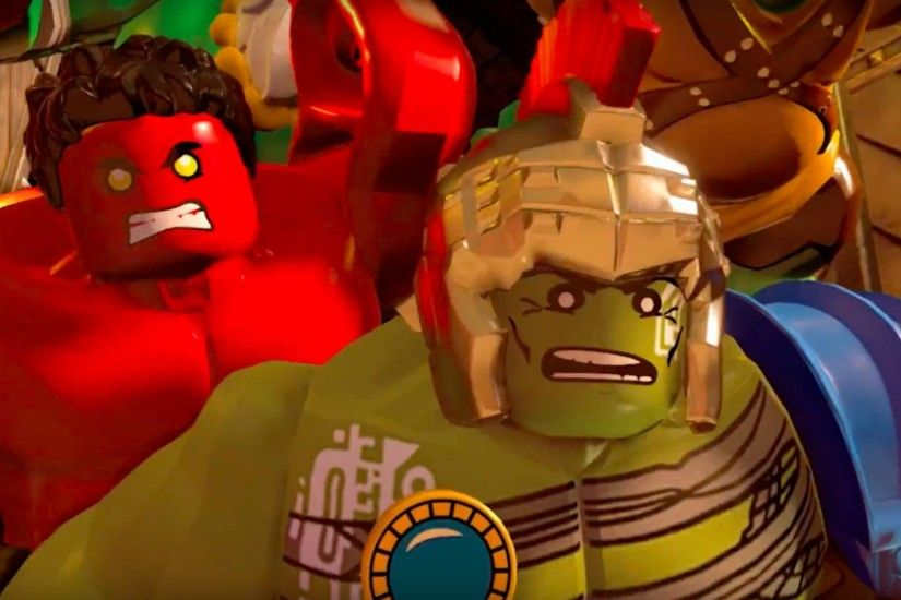 LEGO Marvel Super Heroes 2 Official Journey to Chronopolis Trailer (Video )