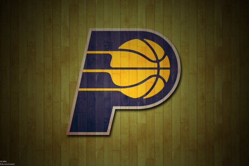 Indiana Pacers Basketball Team Logo Wallpaper HD