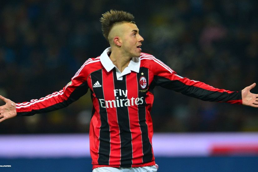 stephan el shaarawy wallpaper 2/5 | players hd backgrounds