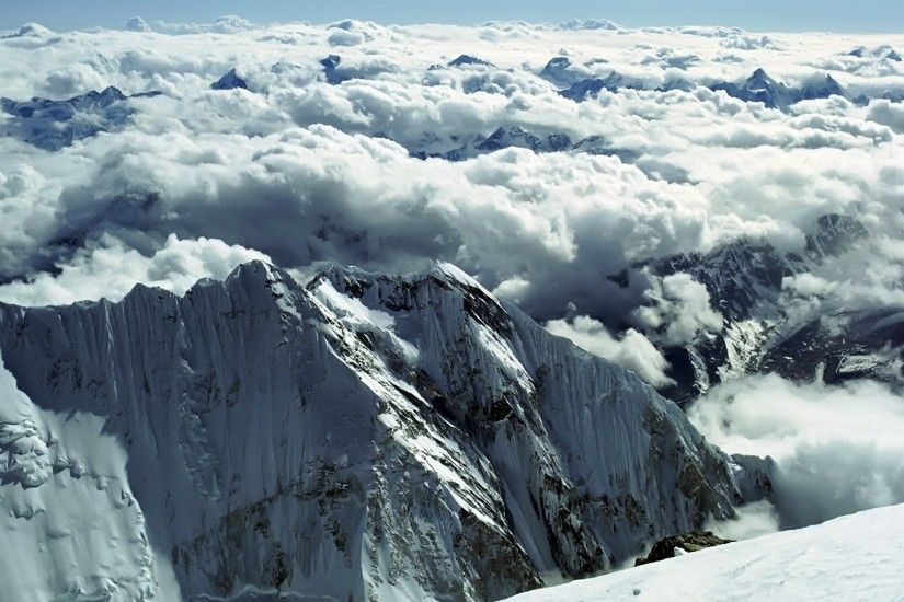 View From Top Of Mount Everest