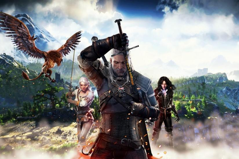 witcher 3 wallpaper 1920x1080 download free