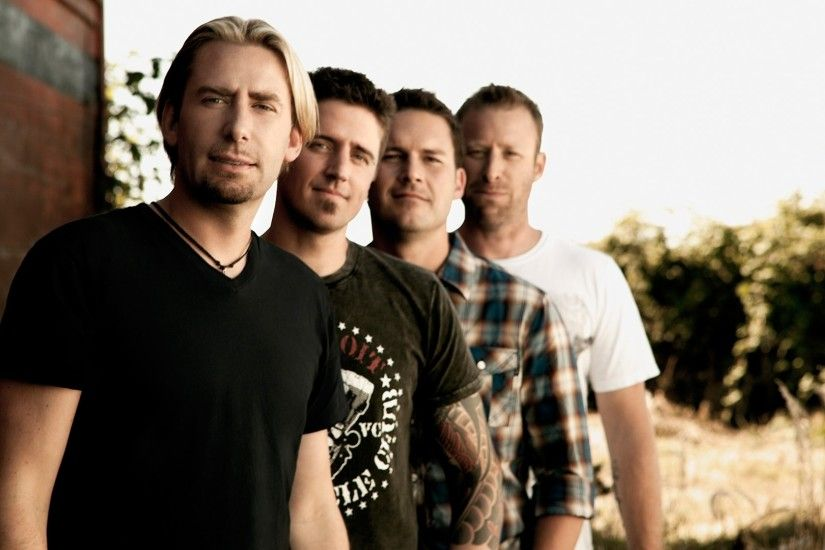 1920x1080 Wallpaper nickelback, band, sun, tattoo, look
