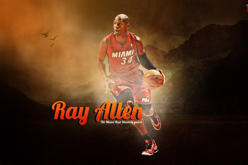 ray allen miami heat hd wallpapers 1 desktop wallpapers high definition  monitor download free amazing background photos artwork 1920×1200 Wallpaper  HD
