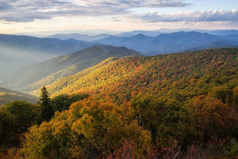 Blue Ridge Mountains North Carolina