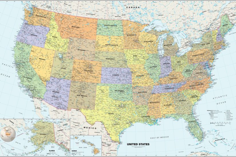 Map Shows The Most Popular Attraction In Every State Maps Update - United  states map tumblr