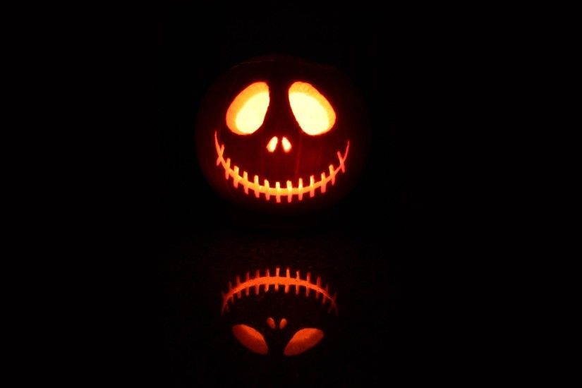 Scary Jack O Lantern HD Wide Wallpaper for Widescreen