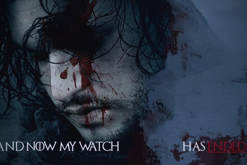 Jon Snow wallpaper I made in honor of the upcoming season.