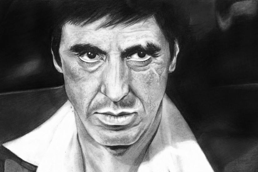 Tony Montana - Scarface Wallpaper 659175 ...