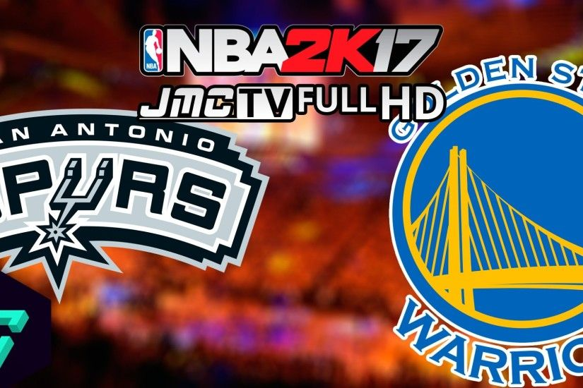 San Antonio Spurs vs. Golden State Warriors | Special video | Full HD  (1080p 60 fps) | NBA 2k17 - YouTube