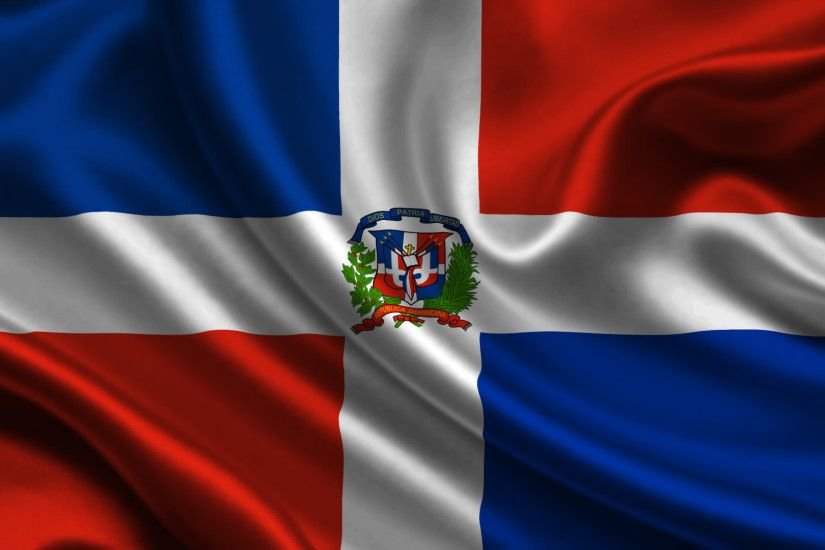 Download wallpapers flag of Dominican Republic, Caribbean, Dominican  Republic, silk flag, national symbols | Flags Wallpapers | Pinterest |  Dominican ...