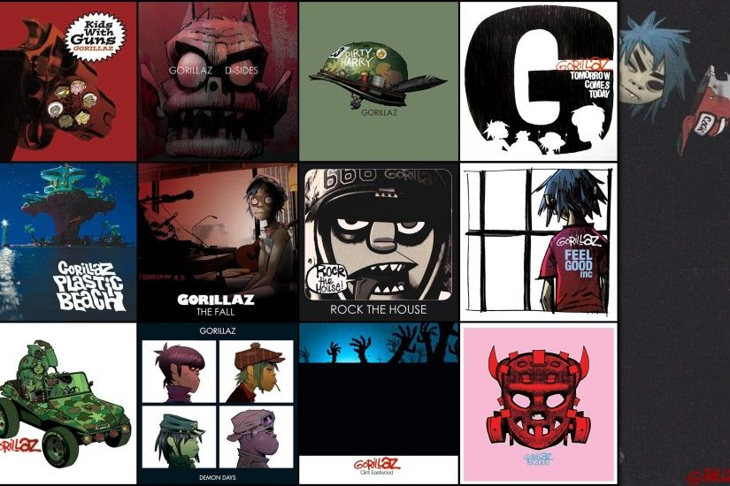 1920x1080 Gorillaz wallpaper
