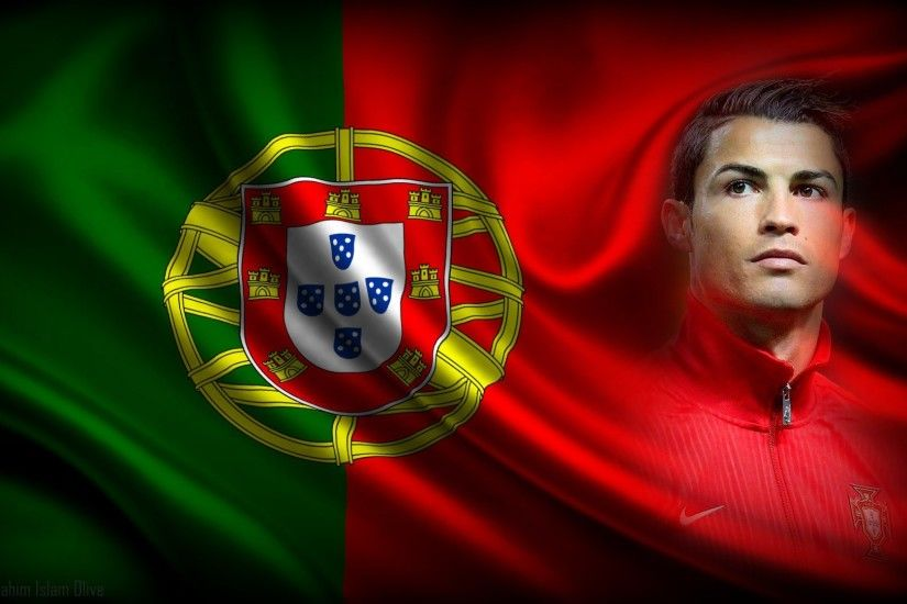 sports cristiano ronaldo flag soccer portugal football cool wallpapers  Wallpaper HD