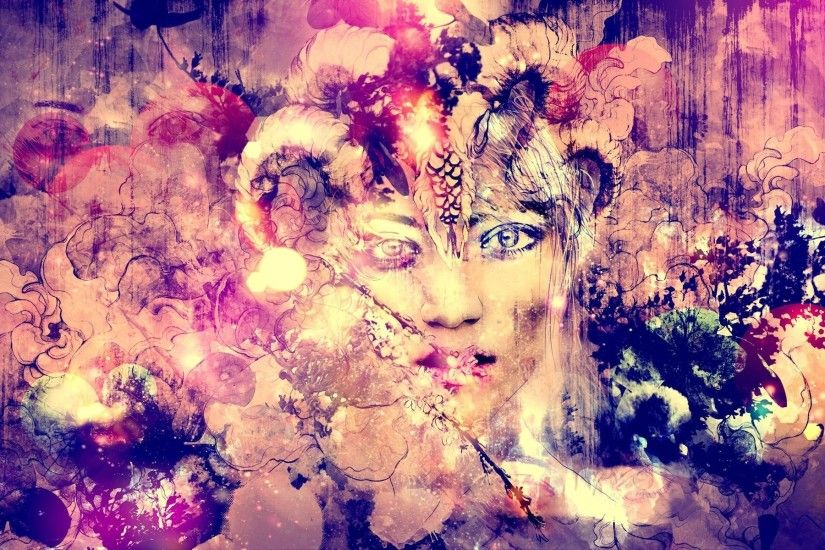 ... Abstract Art Face Background 1 HD Wallpapers | Art : Painting .