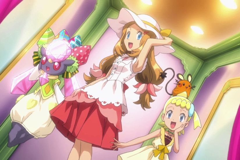 Image - Serena, Bonnie and Diancie outfits 2.png | Pokémon Wiki | FANDOM  powered by Wikia