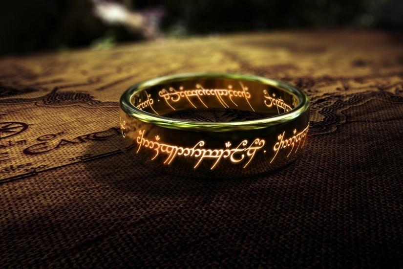The One Ring desktop background.