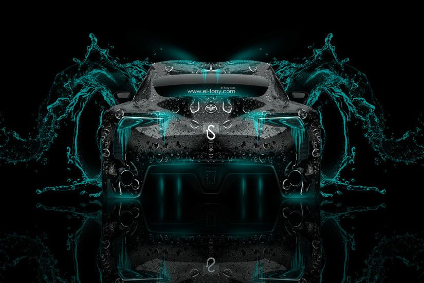 Toyota-FT-1-Back-Azure-Neon-Water-Abstract- ...
