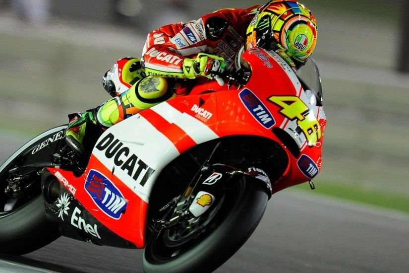 Preview wallpaper valentino rossi, moto gp, ducati 2048x2048