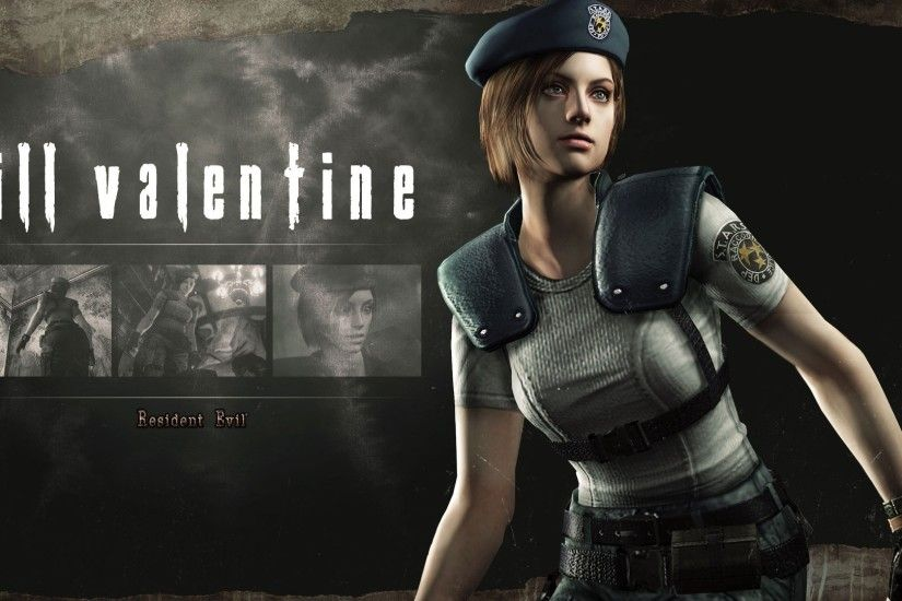 Description for resident evil jill valentine wallpaper