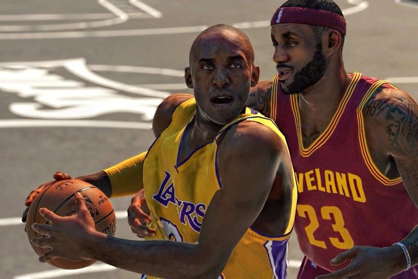 NBA 2k15 Blacktop | Kobe Bryant vs Lebron James | Who would win in 1v1 ?  PS4 / Xbox One - YouTube