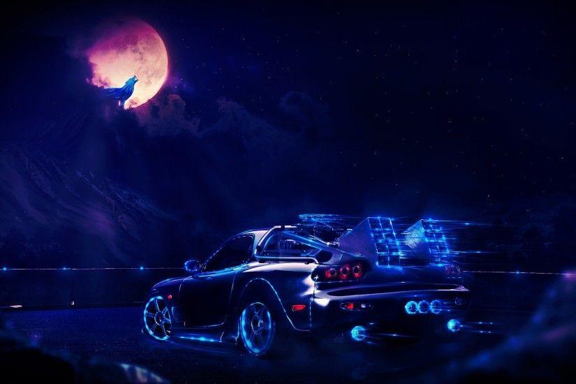 Neon Cars Wallpapers Wallpapertag