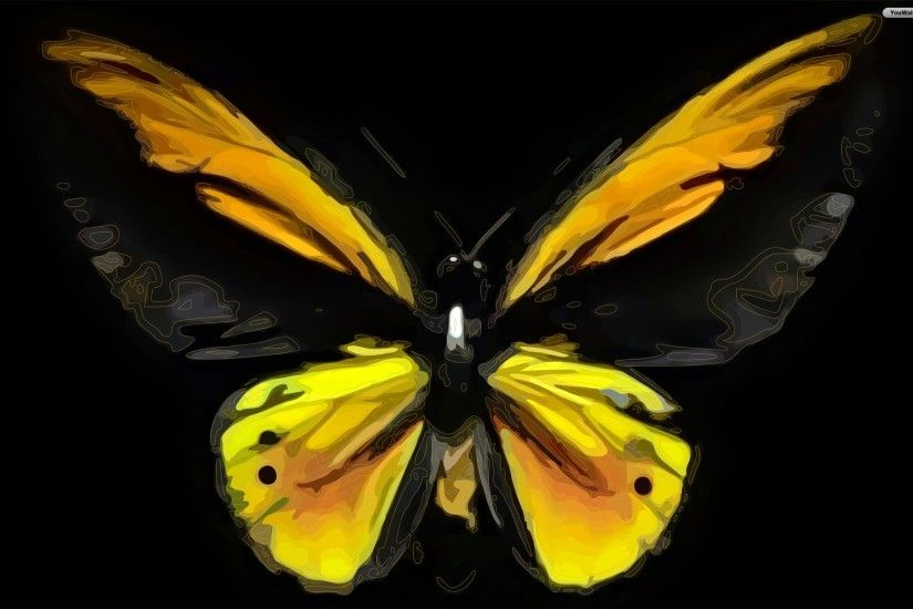 Hd Black And Yellow Wallpapers 14 Widescreen Wallpaper