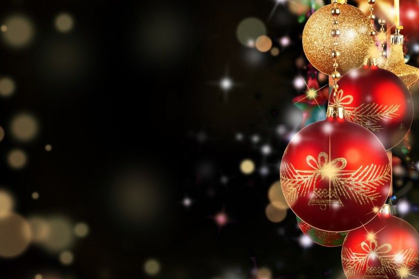 ... Christmas baubles HD Wallpaper 2560x1600