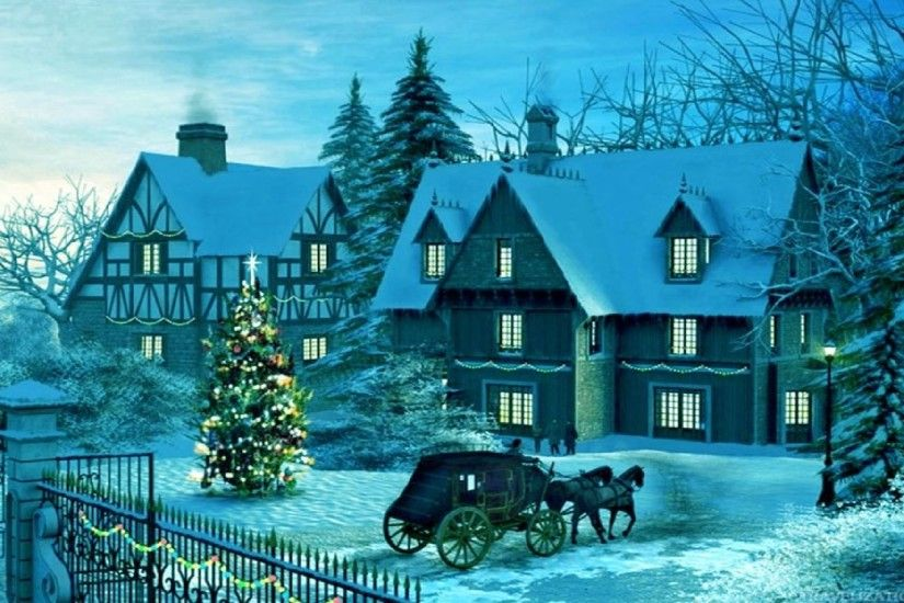 ... 1920×1080 and 2560×1920. Beautiful Winter Christmas Carriage Wallpapers.  Beautiful Winter Christmas Carriage Wallpapers