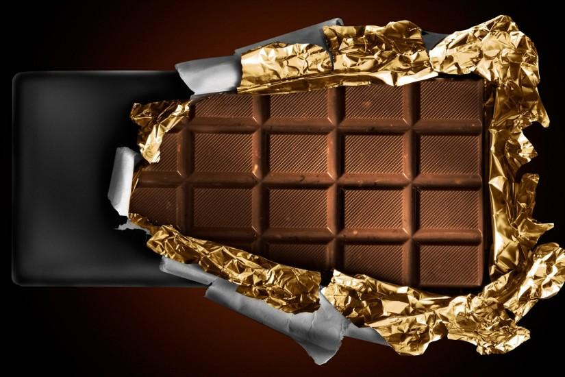 unwrapping a chocolate bar Wallpaper Background | 29929