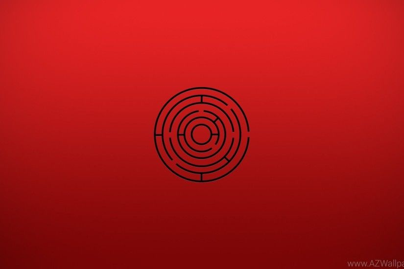 2560x1440 Minimalistic Labyrinth YouTube Channel Cover