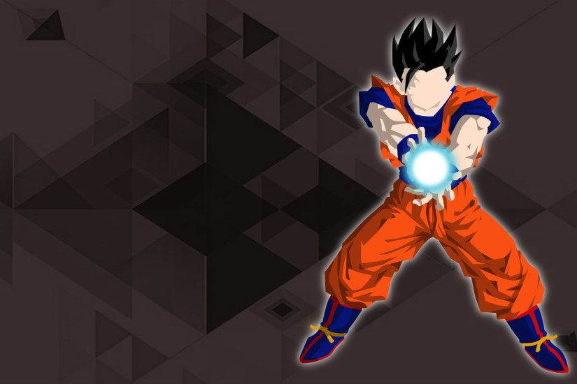 Anime - Dragon Ball Super Anime Minimalist Gohan (Dragon Ball) Wallpaper