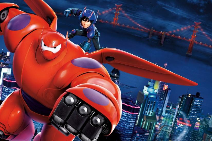 Big Hero 6 Movie Wallpaper - Hiro Hamada And Baymax | HD Wallpapers .