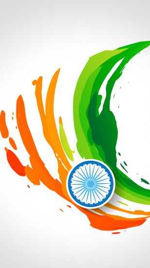 ... Free download of India Flag for Mobile Phone Wallpaper 14 of 17 -  Abstract Tricolour