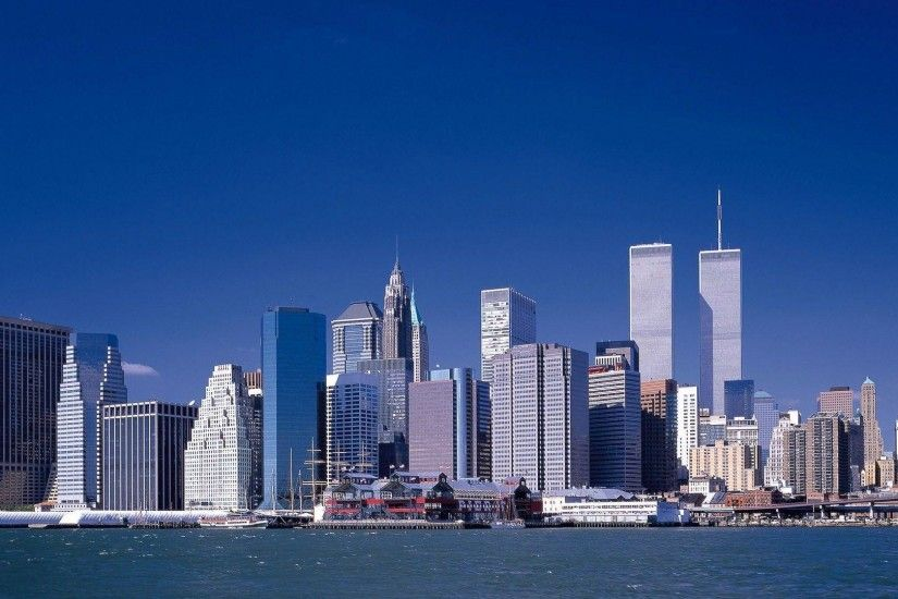 Wallpapers of the twin towers in New York Picture,New York hd .
