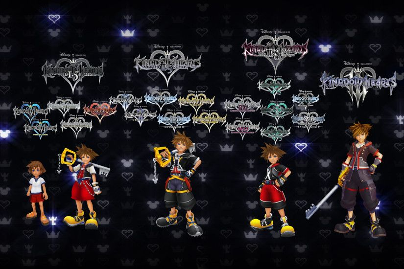 Sora Kingdom Hearts Timeline Final Game by 9029561