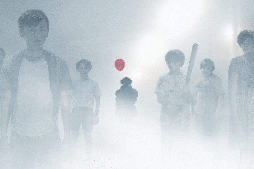 "... Pennywise The Clown Haunts The Losers Club in New Poster For IT - ""You'"
