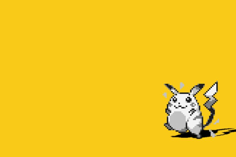 1920x1080 Video Game - Pokemon: Red and Blue Pikachu Wallpaper