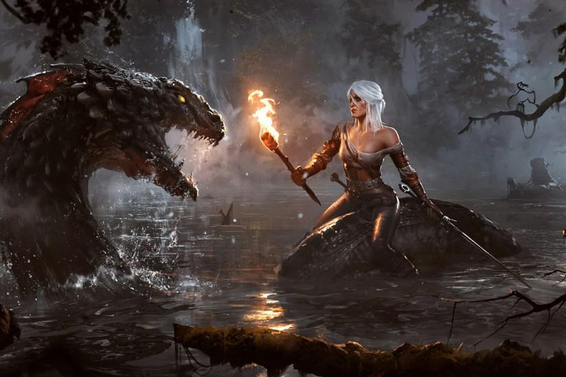 free download witcher wallpaper 1920x1080 for pc