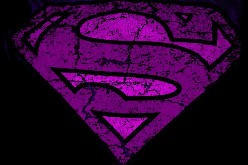 Purple superman logo Wallpapers | Pictures