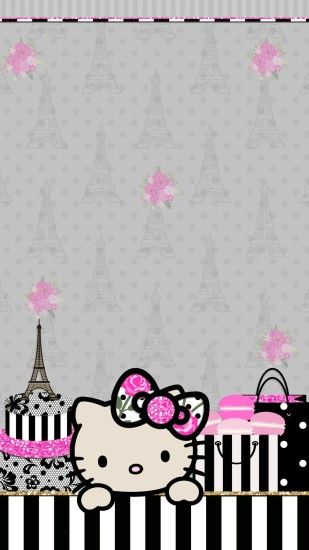 Hello Kitty Wallpaper, Pink Wallpaper, Wallpaper Backgrounds, Iphone  Wallpapers, Pretty Backgrounds, Vintage Wallpapers, Designer Wallpaper,  Holy Chic, ...
