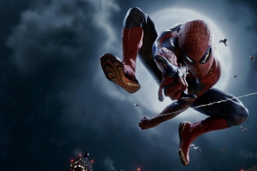 HD Spiderman Superhero Wallpaper Background Full Size .