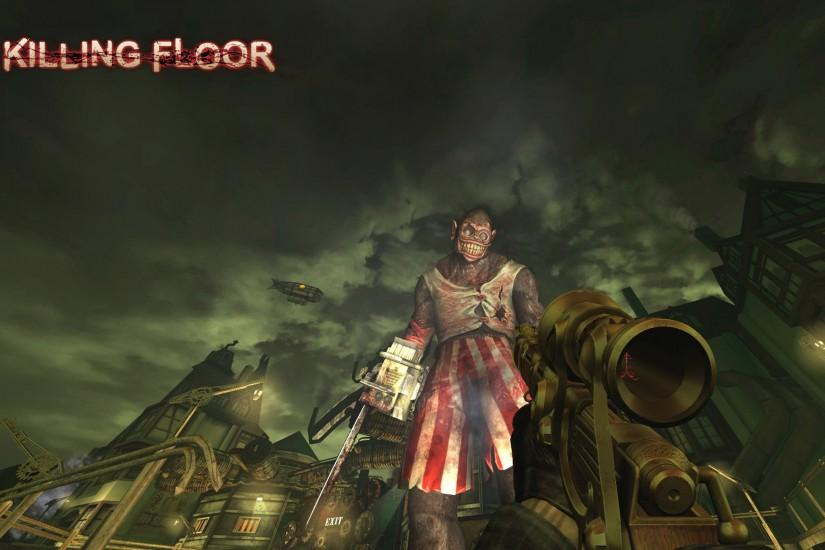 KILLING-FLOOR co-op survival horror shooter killing floor dark (10)  wallpaper | 1920x1200 | 390941 | WallpaperUP